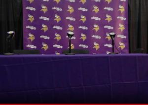 Press conference day of sponsorship removal